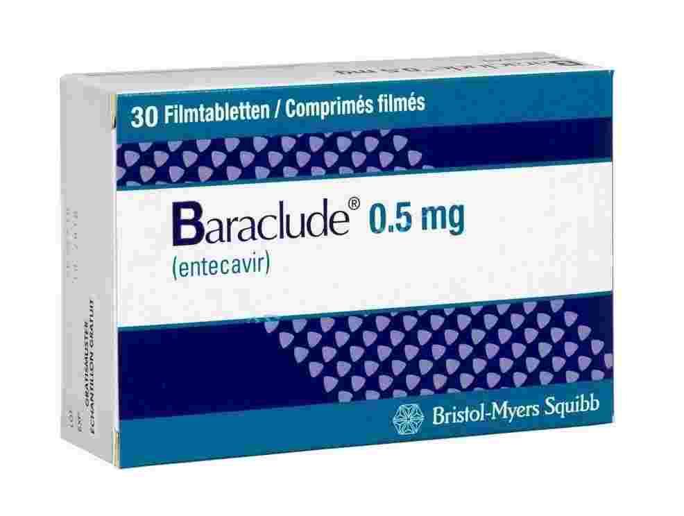 Baraclude 0.5mg (Бараклюд 0.5мг) США
