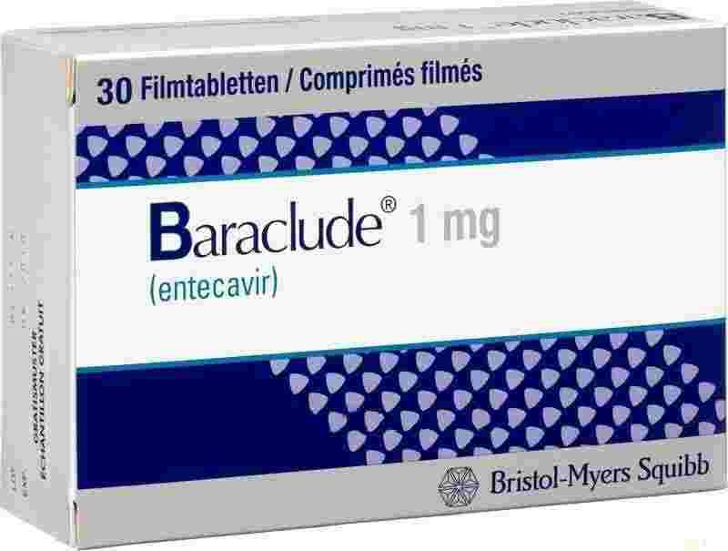 Baraclude 1mg (Бараклюд 1мг) США