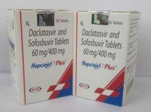Hepcinat Plus, Медицинские препараты из Индии. Противовирусные. Онкология. ВИЧ