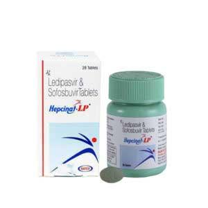Hepcinat-LP, Медицинские препараты из Индии. Противовирусные. Онкология. ВИЧ