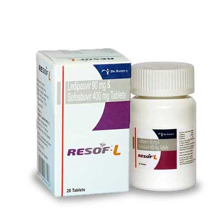 Resof-L, Медицинские препараты из Индии. Противовирусные. Онкология. ВИЧ