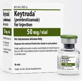 Препараты при онкологии. Лечение онкологии, Keytruda